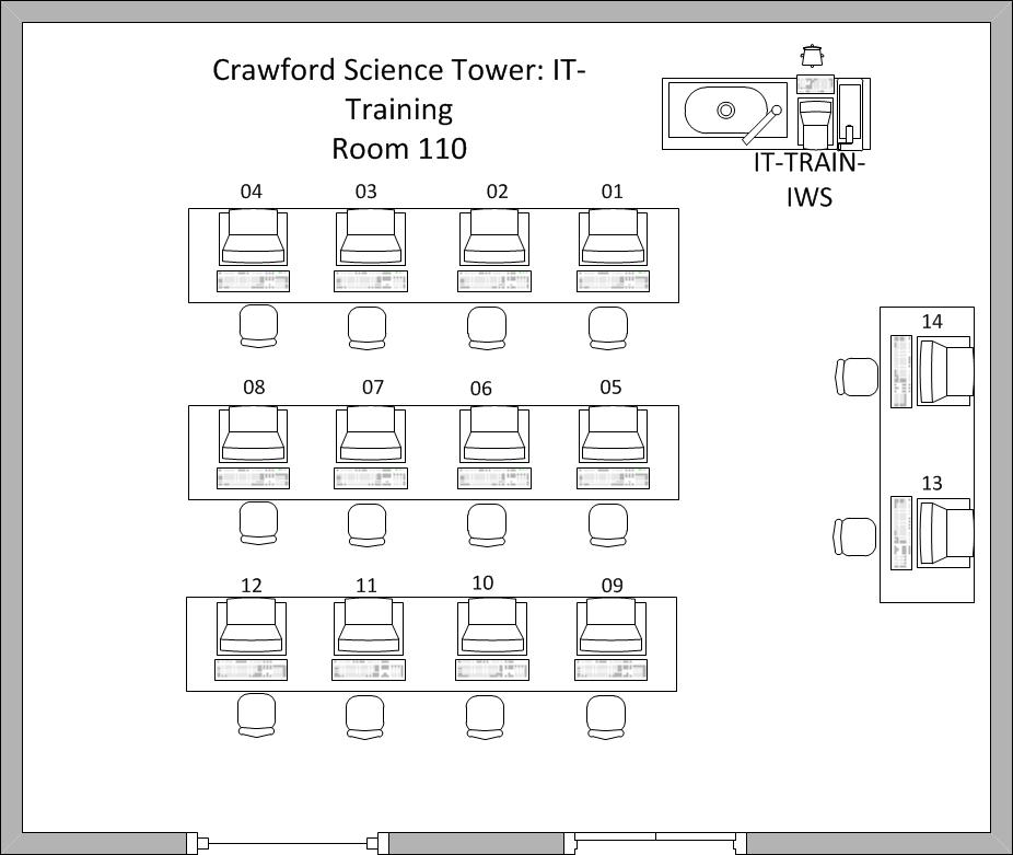 Crawford IT training room