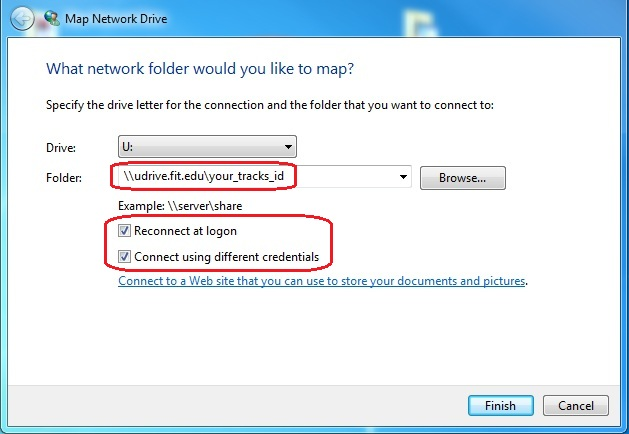 Tech Support Self Help - How to Map a Network Drive (U and S ... on